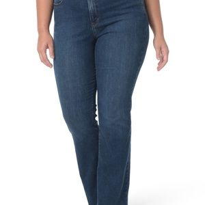 Nydj Jeans Bootcut w rhinestone back pockets 16W